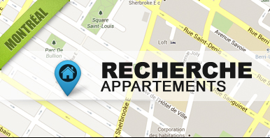 Search apartments